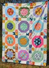 detail, Fandango Quilt by Tula Pink | OZ quilts | quilt ... & SewCraftyJess: Tula Pink sew along: Snow Globes quilt top Adamdwight.com