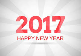 2017 background. Simple 2017 Free Vector New Year 2017 Background For