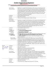 ideas collection ndt technician resume sample about layout - Ndt Resume  Format