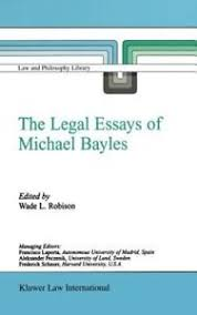 the legal essays of michael bayles by wade l robison hardcover  image is loading the legal essays of michael bayles by wade