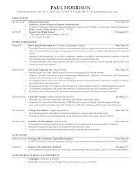 Recruiter Resume Templates Saneme