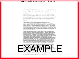 great gatsby essay american dream tom custom paper service great gatsby essay american dream tom the great gatsby essays explore different themes of the