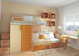 For Small Space The Janeti Design Ideas Brown Storage Drawer Bunk Bed