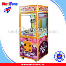 Claw Vending Machine Beauteous Chocolate Candy Claw Crane Vending Machine For SalesArcade Claw