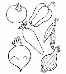 102+ Tranh tô màu các loại rau củ quả đẹp cho bé tập tô