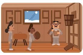 dedicates doodle to Dr James Naismith ...