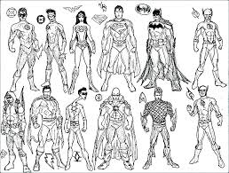 Printable Coloring Pages Superheroes Super Coloring Pages Superhero