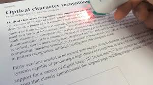 Text Document Optical Character Recognition Wikipedia