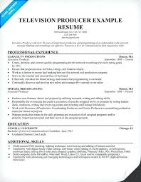 Tv Production Assistant Resume Sample Film Accountant Re