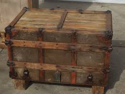 antique trunk coffee table design