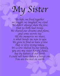 Best Sister Quotes For Her Birthday