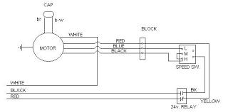 ac er fan motor wiring diagram full