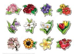 flower printable pictures. Simple Flower Click To See Printable Version Of Printable Stickers With Flowers Paper  Craft On Flower Pictures E