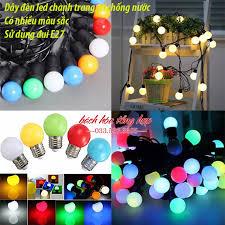 Dây đèn trang trí đèn led dây trang trí đèn trang trí đèn dây trang trí ngoài  trời đèn trang trí ngoài trời chống nước dây đèn led búp chanh đèn trang