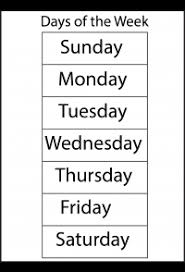 Spelling – Days Of The Week / Free Printable Worksheets – Worksheetfun