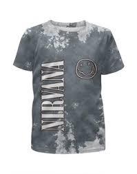 """Детские футболки c эксклюзивными принтами """"нирвана"""" - <b>Printio</b>"""