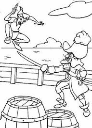 Small Picture Captain Hook Telescoped Peter Pan Coloring Pages Pinterest
