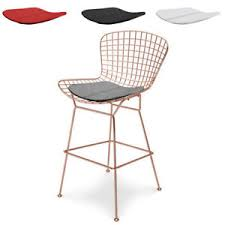 rose gold bar stools. Image Is Loading Rose-Gold-Bar-Stool-Copper-Color-Counter-Stool Rose Gold Bar Stools