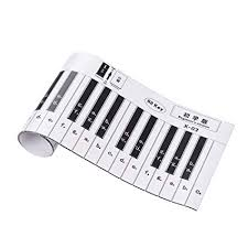 Piano Notes Chart Ammoon 88 Keys Piano Keyboard Fingering Practice Chart Sheet Fingering Version With Notes Reference Piano Teaching Guide Assistive Tool For Bebinners