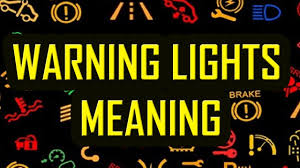 Dashboard Warning Lights Explained Dashboard Warning Lights Explained