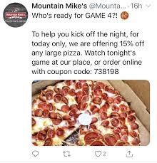 mountain mike s pizza 8951 san ramon rd dublin ca