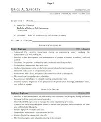 Professionally Written Engineer Resume Example