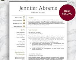 Sale Professional Resume Template Modern Resume Template