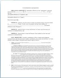 Free Lease Agreement Template Form Commercial Florida Vehicl – Gocollab