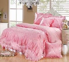 Incredible Pink Queen forter Sets Attractive