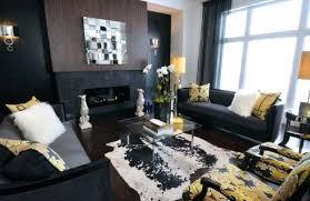 brindle cowhide rug in living room style gray