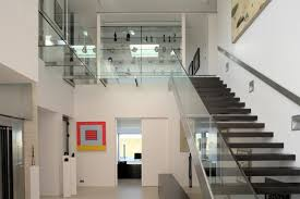 glass stair railings interior glass stairs and railings design ideas