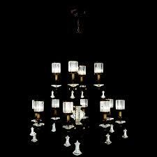 fine art lamps 584740 eaton place 12 light traditional crystal chandelier light loading zoom