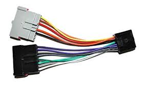 amazon com radio adapter wire wiring harness old to new style image unavailable
