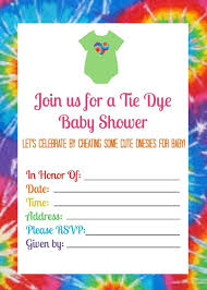 Tie Dye Invitations Free Major Magdalene Project Org