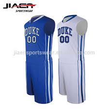 Basketball And Jersey Blue White