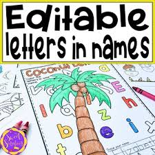 My name is jennifer stay, owner of coloring pages bliss. Editable Name Coloring Page Worksheets Teaching Resources Tpt
