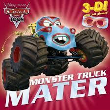 Monster Truck Mater (Disney Pixar Cars Toon) (Paperback) (Frank ...