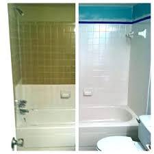 rustoleum bathtub refinishing kit home depot bathtub refinishing kit home