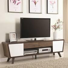 mid century tv. Plain Mid TwoTone Mid Century TV Stand To Tv I