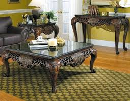 wonderful coffee table sets for living room brown wood 3 piece square set black ashley furniture