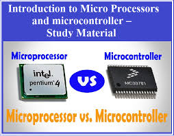 Introduction To Micro Processors And Microcontroller Study