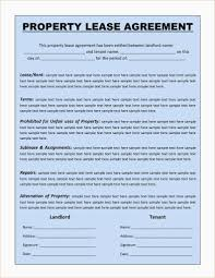 Standard Lease Agreement Ma Elegant Simple Apartment Lease Form