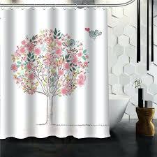 tree of life shower curtain dotz