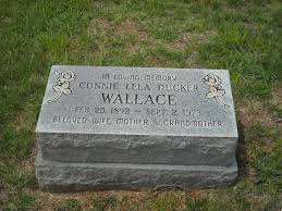 Connie Lela Ducker Wallace (1892-1973) - Find A Grave Memorial