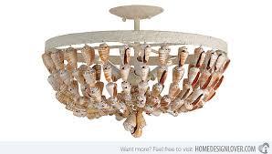seashell bathroom lighting fixtures. seashell ceiling mount light bathroom lighting fixtures .