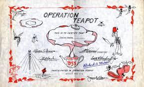 「Operation Teapot」の画像検索結果