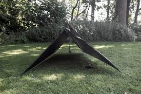 read on to know more about how you can build a tarp tent with just a lightweight polyethylene tarp a couple of poles or trees a few guy lines