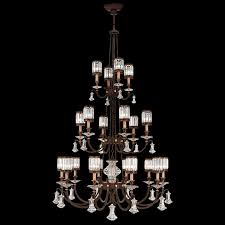 fine art lamps 584840 eaton place extra large 20 lamp traditional crystal chandelier in bronze loading zoom