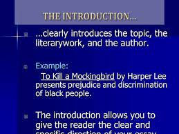 character analysis and literary essay introduced ppt  7 clearly