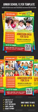junior school admission flyer template flyers flyer template junior school flyer